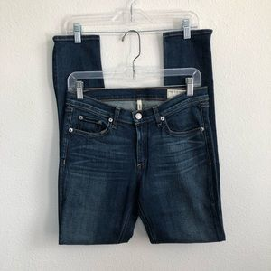 Rag & bone Preston skinny stretch denim jeans 29